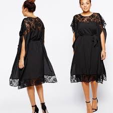 plus size peplum dress with sleeves pluslook eu collection