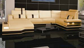 Big Leather Sofas Free Shipping Large Size Villa Furniture Genuine Leather