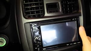 how to remove stereo hyundai sonata 2000 2006 youtube