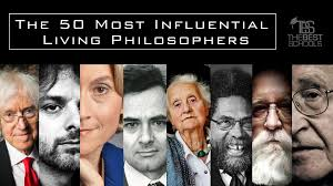 the 50 most influential living philosophers the best schools