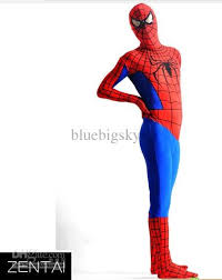 Body Halloween Costumes Halloween Body Lycra Spandex Spiderman Zentai Suit Fancy