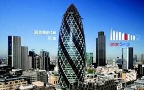 prestigeous offices in the iconic high rise buildings of london