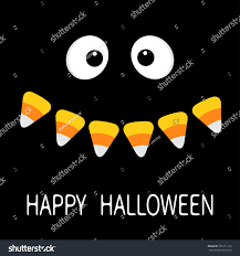 happy halloween scary face smiling emotions stock vector 701271133