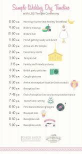 template wedding timeline template