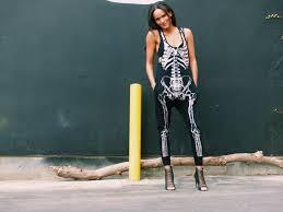 Skeleton Jumpsuit Trick Or Treat U2013 With Love Amanda