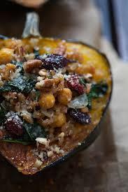kara lydon thanksgiving stuffed acorn squash vegetarian the