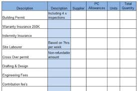 download construction estimate template example takeoff sheet