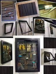 ikea ribba diy earring organizer from an ikea ribba frame ikea hackers the