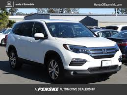 2017 new honda pilot elite awd at honda of escondido serving san