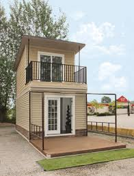 House Plans With Balcony by The Eagle 1 A 350 Sq Ft 2 Story Steel Framed Micro Home
