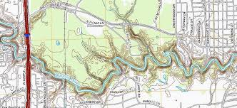 Buffalo Map 2013 Topographic Map Of The Buffalo Bayou In The Project Area