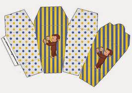 curious george free printable boxes parties