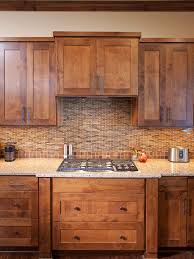 Wood Stained Cabinets Clear Alder Cabinets Houzz