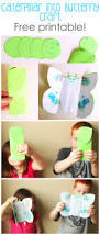 Butterfly Crafts For Kids To Make - caterpillar into butterfly craft for kids cutesy crafts