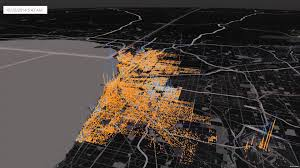 Chicago Crime Map by Chicago Crime Map 3 31 2014 3 31 2015 Youtube