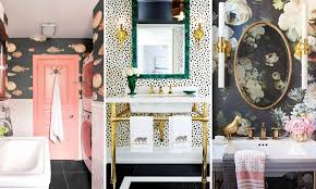 17 times that wallpaper in a bathroom stole the show houseandhome ie