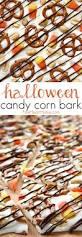 Halloween Salty Snacks Halloween Candy Corn Bark