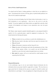 event proposal letter charity proposal example proposal letter