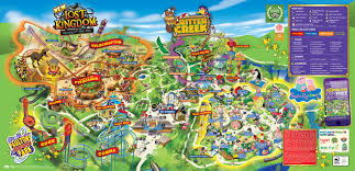 Seaworld Orlando Park Map by Park Tivoli Or Amusementspark Tivoli Is A Theme Park Near Berg En