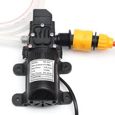 automotive electric water pump 12v 60w electric car wash pump water cleaner washer pressure
