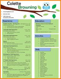 resume templates for teachers resumes templates all best cv resume ideas