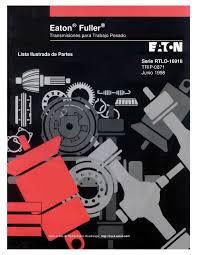 28 fuller rtlo 16918b manual transmission repair manual