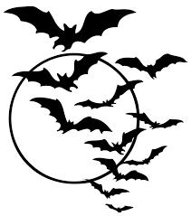 Pictures Of Halloween Bats Vintagefeedsacks Vintage Halloween Silhouettes Halloween