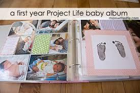 baby album project baby album year