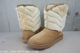 womens boots ebay australia ugg australia tania chestnut shearling suede boots us 11 eu