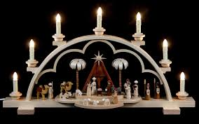 candle arch christmas story 64 cm 25in by müller kleinkunst