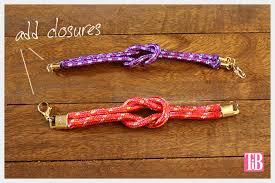 diy bracelet rope images Knotted rope bracelet jpg