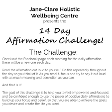 Challenge Meaning Join Me For The 14 Day Affirmation Challenge Clare