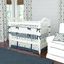 nautical baby boy nursery bedding navy anchors baby crib bedding