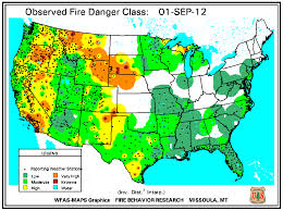 a map of oregon fires wildfires september 2012 state of the climate national