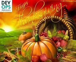 happy thanksgiving devops advisors