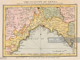 Genoa Italy Map The Territory Of Genoa Map By John Luffman From Select Plans Of