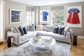 blue living room rugs 12 living room ideas for a grey sectional hgtv s decorating