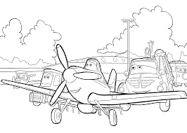 dusty colouring pages funycoloring