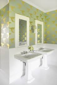 before and after easy bathroom makeover design idea with