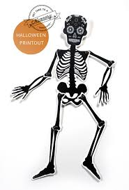 Diy Halloween Skeleton by Diy Halloween Skeleton Puppet Paper Doll