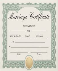 wedding certificate template heart wedding certificate template