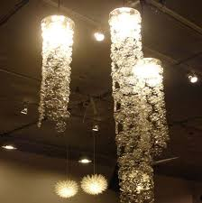 Diy Glass Bottle Chandelier 40 Diy Decorating Ideas With Recycled Plastic Bottles