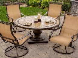 Wrought Iron Patio Swing by Patio Furniture Wrought Iron Dining Sets Awesome Metal Patio