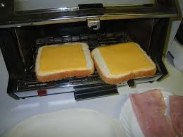 Commercial Sandwich Toaster Oven 2 Minute Toaster Oven Grilled Ham And Cheese Sandwich 5 Steps