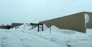 photos of snow vadnais heights sports dome collapses under foot of snow minnesota