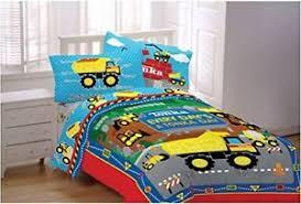 Truck Bedding Sets Construction Bedding Sets Dump Truck Sheets Bed Excavator