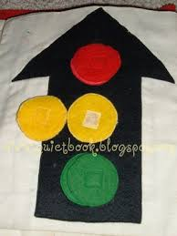 how to make a quiet book page 2 u0026 3 traffic light and road