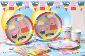 peppa pig birthday supplies peppa pig party supplies party pieces