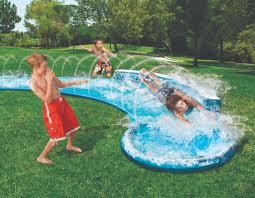 water slide in backyard home design inspirations