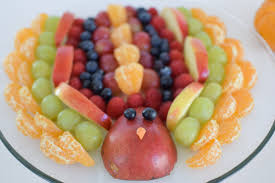 fruit turkey appetizer thanksgiving blogluck amanda seghetti